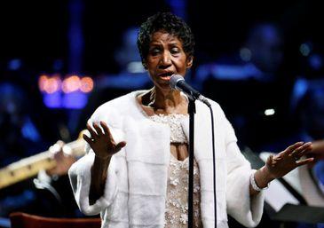 Aretha Franklin durante show em Nova York - Reuters/Shannon Stapleton/Direitos Reservados