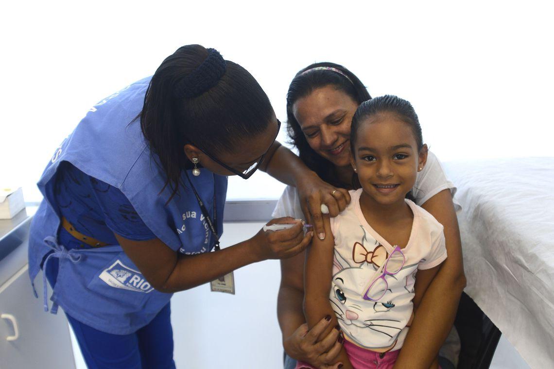 Campanha de Vacinação contra Poliomielite e Sarampo é prorrogada até 14 de setembro