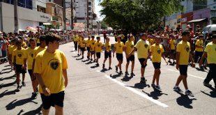 O evento alusivo celebra aos 196 anos de Independência do Brasil