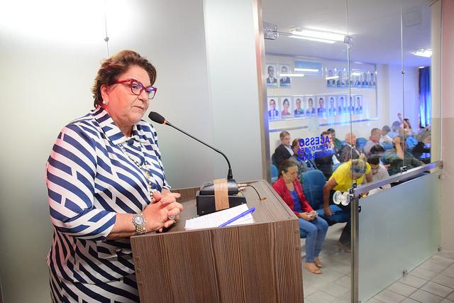 Vereadora Sandra Rosado lembra luta por retorno de voos
