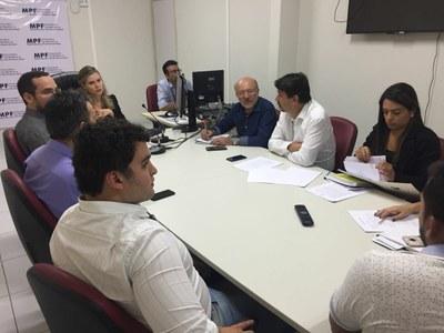 MPF discute andamento de obra e de estudos relacionados à Barragem de Oiticica