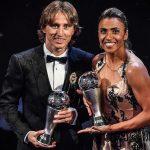 Luka Modric é eleito o melhor jogador do mundo pela FIFA
