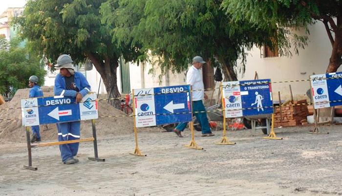 Caern inicia troca dos ramais de água no Vingt Rosado começa neste sábado