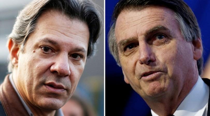 Haddad e Bolsonaro têm propostas antagônicas para direitos humanos