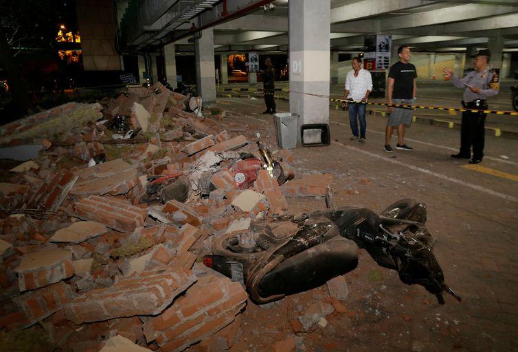 Indonésia registra terremoto na turística ilha de Lombok - Johannes Christo/Reuters/Direitos reservados