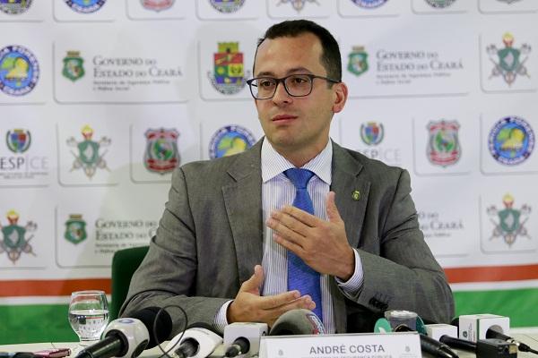 ANDRECOSTA Secretário da Segurrança no Ceará
