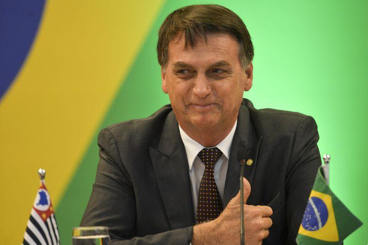 O presidente eleito Jair Bolsonaro - Marcelo Camargo/Arquivo/Agência Brasil