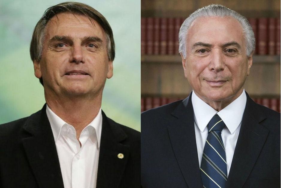 Equipes de Temer e Bolsonaro iniciam transição esta semana em Brasília