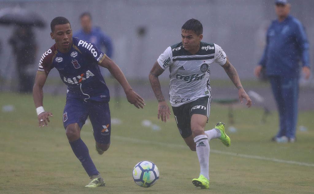 Palmeiras só empata com Paraná e adia festa do título
