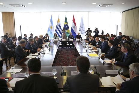 Os ministros das Relações Exteriores dos integrantes do Mercosul discutiram retomada de negociação com Mercosul -José Cruz/Agência Brasil