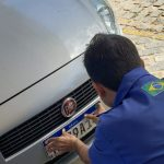 Aceitação espontânea por placas no padrão Mercosul supera estimativa do Detran