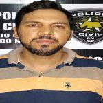 Polícia prende foragido da Justiça vocalista de uma banda de forró