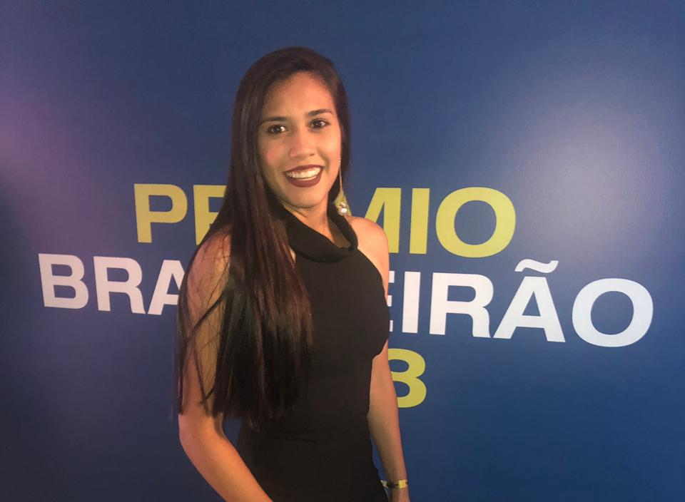 Atleta potiguar é eleita melhor zagueira do Prêmio Brasileirão 2018