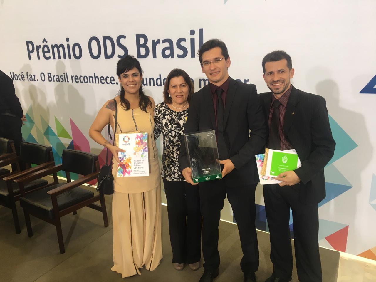 Projeto da Ufersa conquista primeiro lugar em prêmio de desenvolvimento sustentável