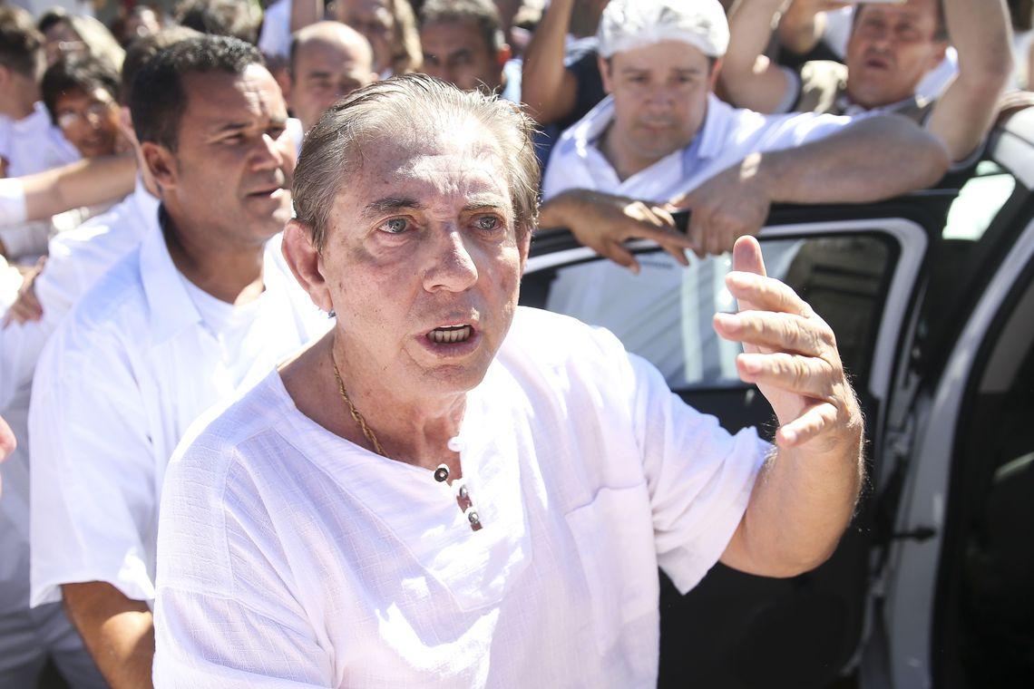 João Teixeira de Faria, o João de Deus, é alvo de denúncias de abusos sexuais. /Marcelo Camargo/Agência Brasil