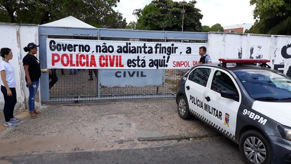 Desembargador determina suspensão da greve da Polícia Civil