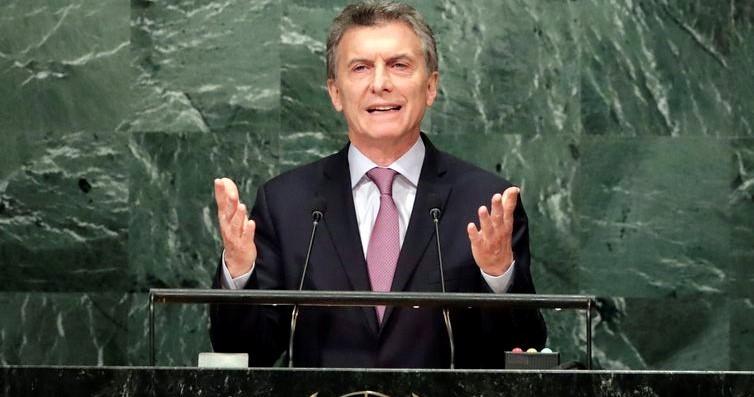 Maurício Macri se reunirá amanhã com o presidente Bolsonaro, em Brasília(Jason Szenes/EPA/Agência Lusa/direitos reservados)