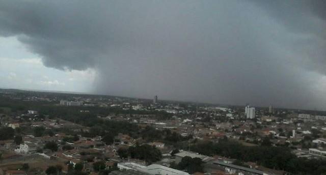 Chuva em Mossoró - Imagem/Rayron Alves