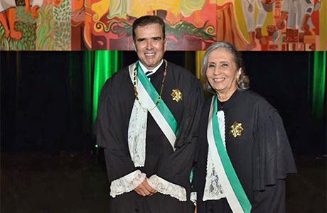Bento Herculano e Perpétuo Wanderley assumem presidência do TRT-RN