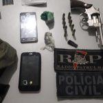 Polícia Civil prende dupla suspeita por tentativa de latrocínio