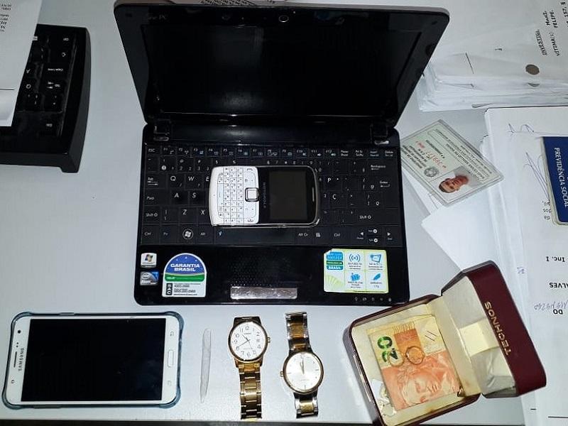 material roubado
