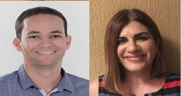 Os brasileiros Jayse Ferreira e Débora Garofalo - Divulgação/Secretarias de Educação de Pernambuco e São Paulo