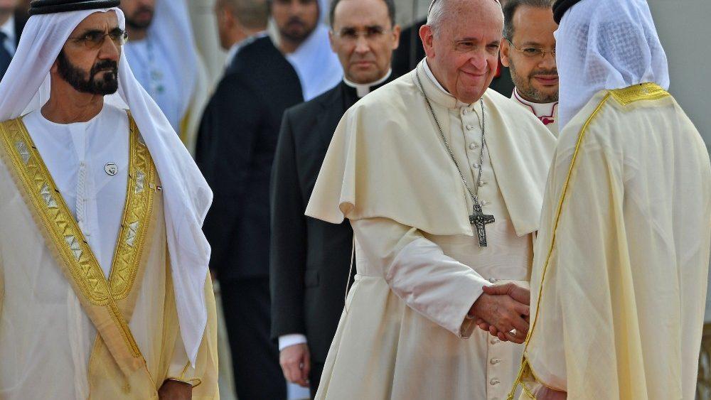 Abudabi Papa Frncisco