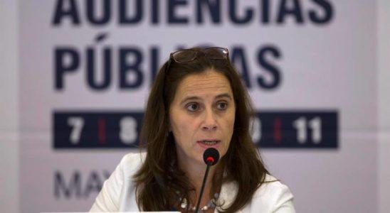 A relatora para o Brasil na CIDH, a comissária Antonia Urrejola.