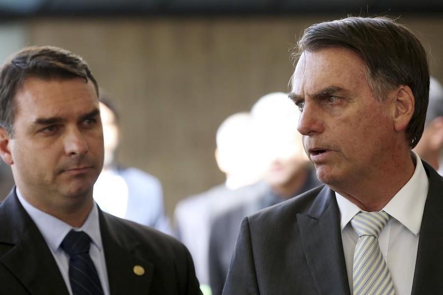 Bolsonaro e Flávio