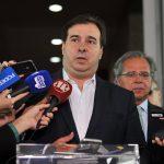 Para Maia, crítica de Guedes ao relatório da Previdência unificou a Câmara