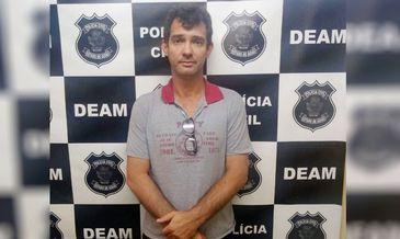 A polícia de Anápolis prendeu Sandro Teixeira de Oliveira, filho do médium João de Deus - Polícia Civil/divulgação