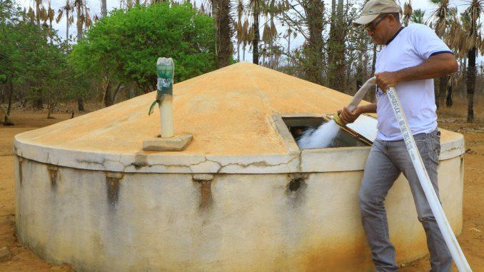 Chuvas recuperam volume de água nas cisternas de comunidades da zona rural