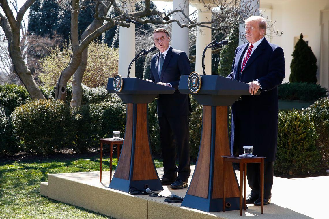 """Para Bolsonaro, encontro com Trump abre """"novas frentes de cooperação"""""""