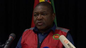 Presidente Filipe Nyusi anuncia medidas para reconstruir áreas afetadas por ciclone em Moçambique -Divulgação Reuters / Direitos reservados