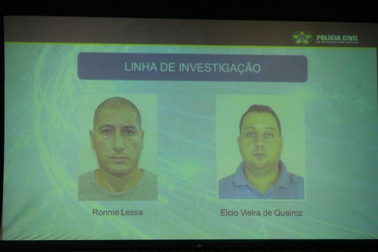 Polícia divulga fotos dos suspeitos de matarem Marielle Franco e Anderson Gomes -Arquivo/Tomaz Silva/Agência Brasil