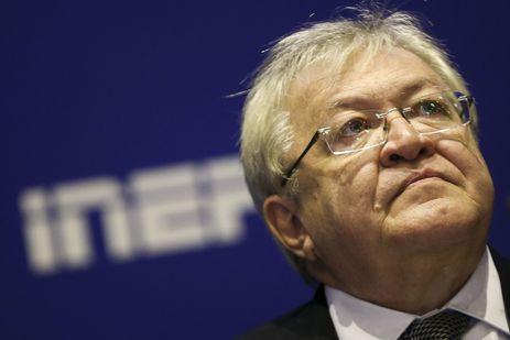 O novo presidente do Instituto Nacional de Estudos e Pesquisas Educacionais Anísio Teixeira, Inep, Marcus Vinícius Rodrigues.