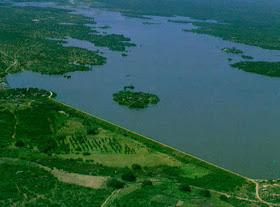 Pataxó, primeiro reservatório público do Rio Grande do Norte a transbordar