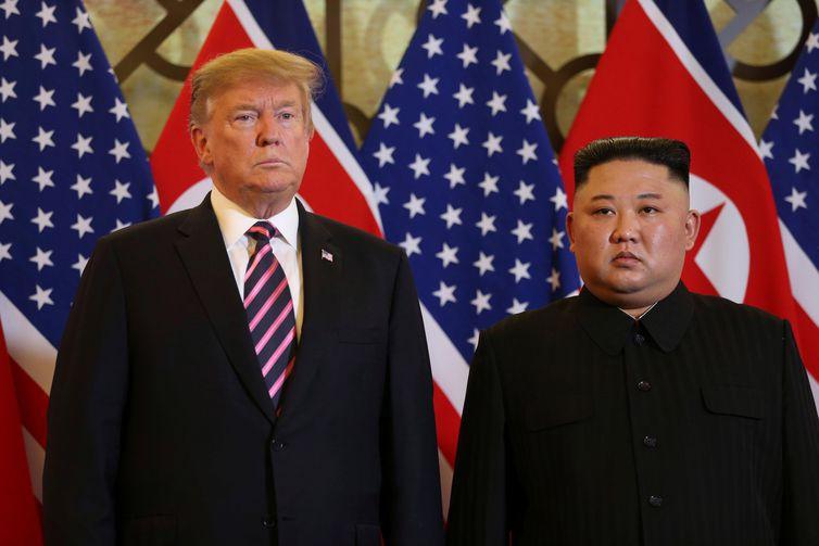 Trump diz que ajuda a resolver questão entre a Coreia do Sul e o Japão