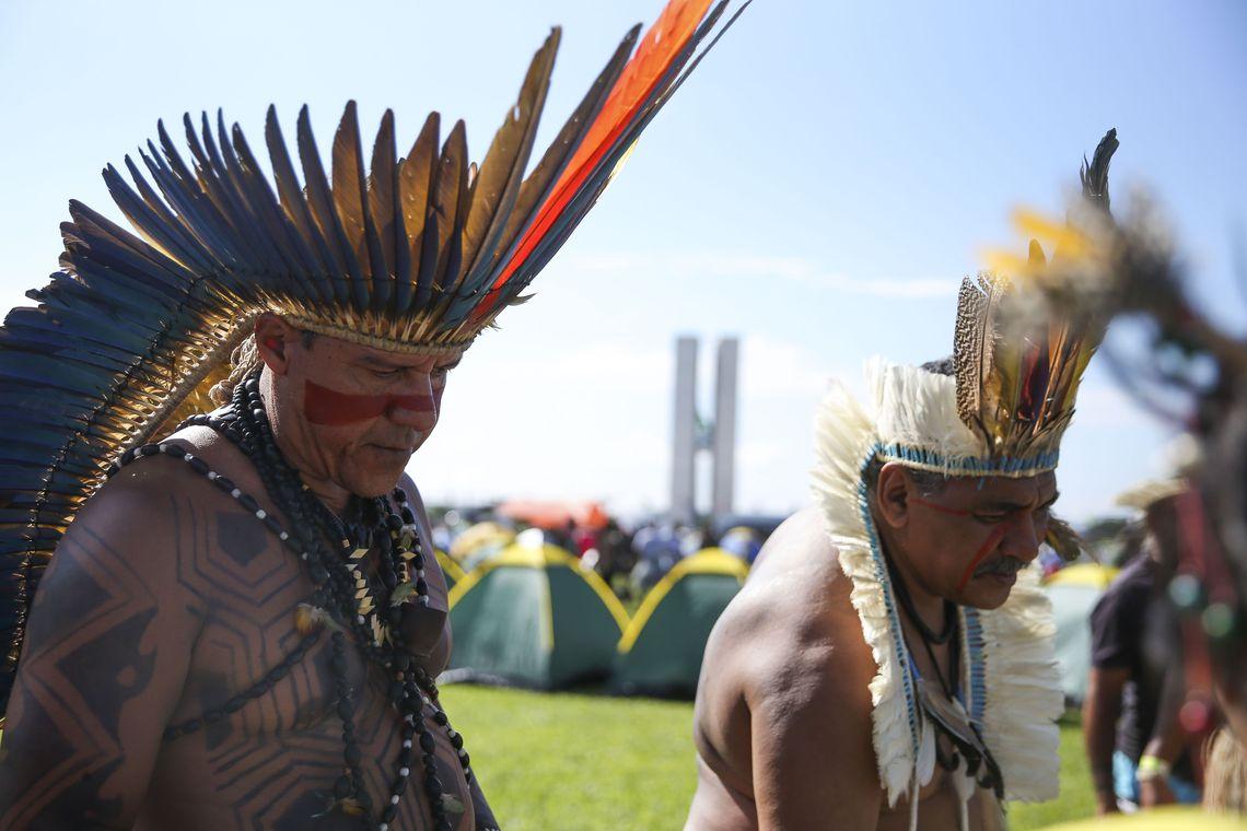 Indígenas pedem apoio no Congresso contra MP da demarcação de terras