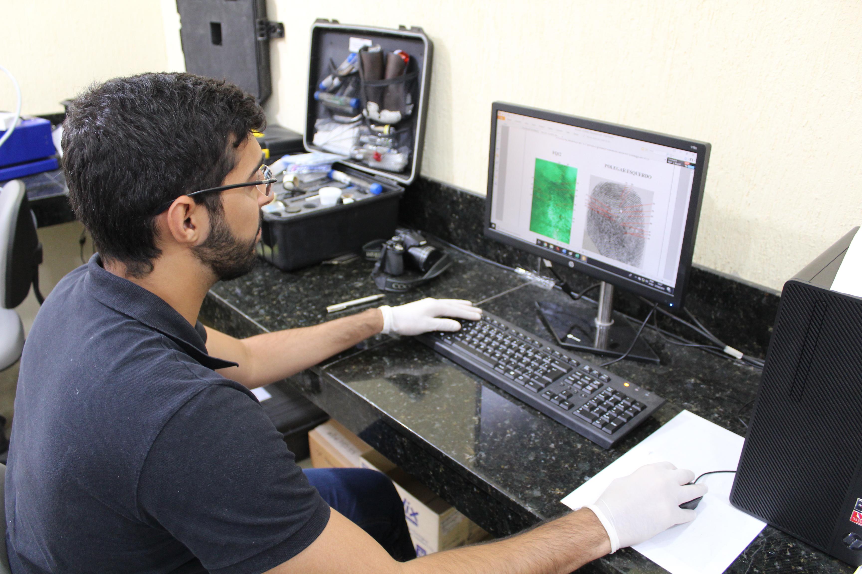 Exame de impressões digitais pelo ITEP-RN desvenda crimes e auxilia justiça