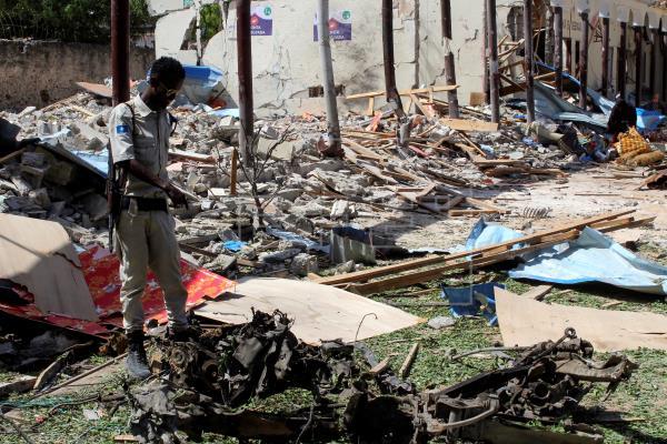 Atentado suicida em na Somália  deixa cinco mortos e três feridos