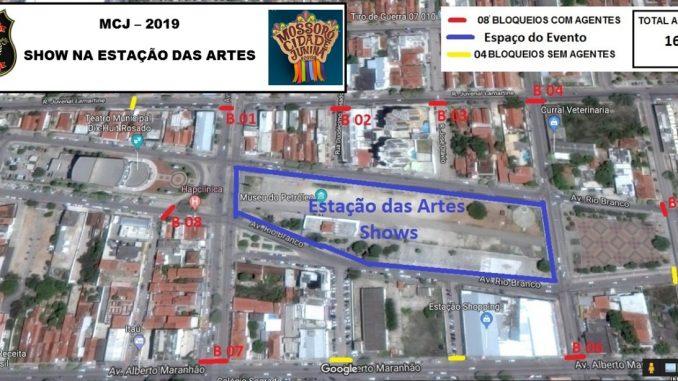 Ruas serão interditadas para o Mossoró Cidade Junina