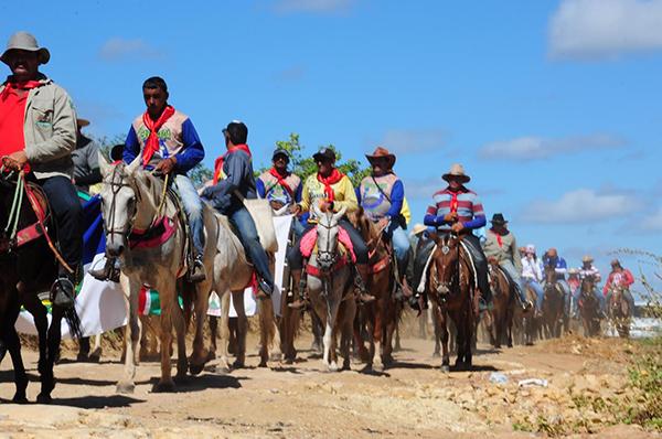 Cavalgada na Rota do Trem, 130 quilômetros entre Mossoró e Patu