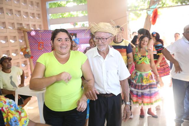 Todos os equipamentos sociais realizaram confraternizações juninas durante o São João. Foto: Pacífico Medeiros.