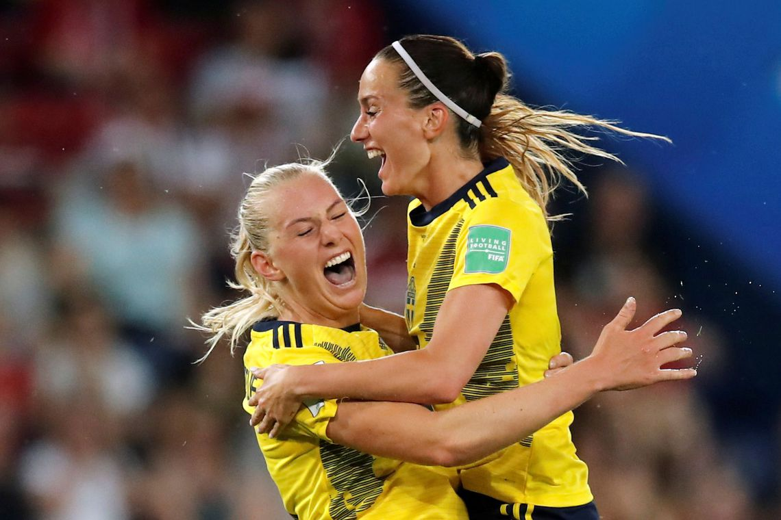 Copa Feminina - Suécia