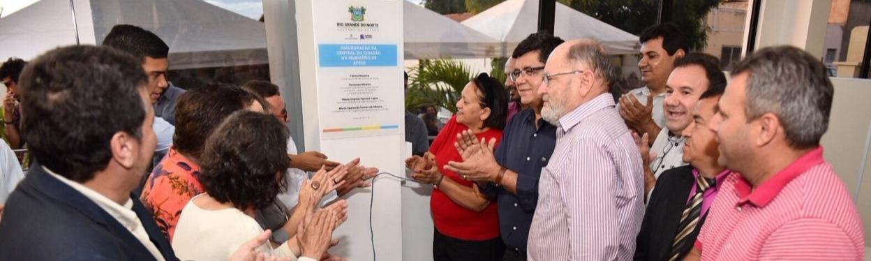 Governo entrega Central do Cidadão em Apodi em sede própria e reestruturada