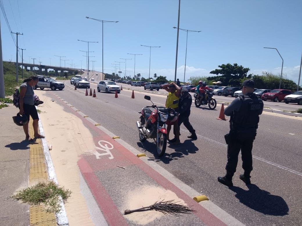 Polícia Militar intensifica barreiras de fiscalização no Estado