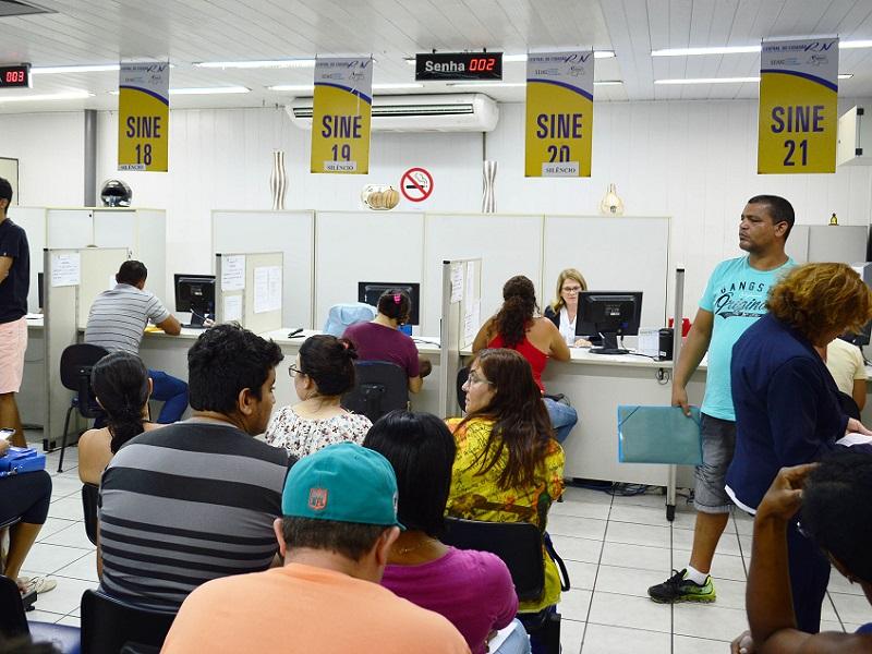 Sine-RN disponibiliza 200 vagas de emprego para trabalhadores do interior do RN