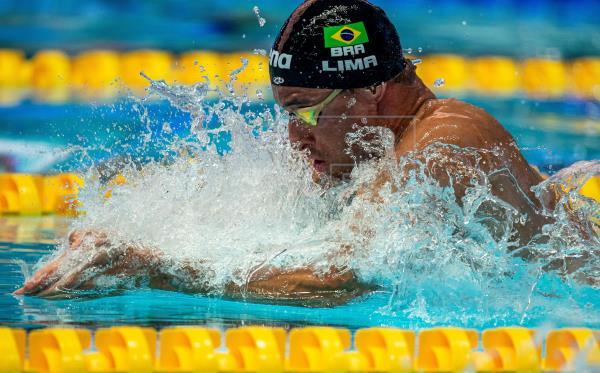 Felipe Lima, João Gomes e Léo de Deus vão à finais; Guido é 7º nos 100m costa