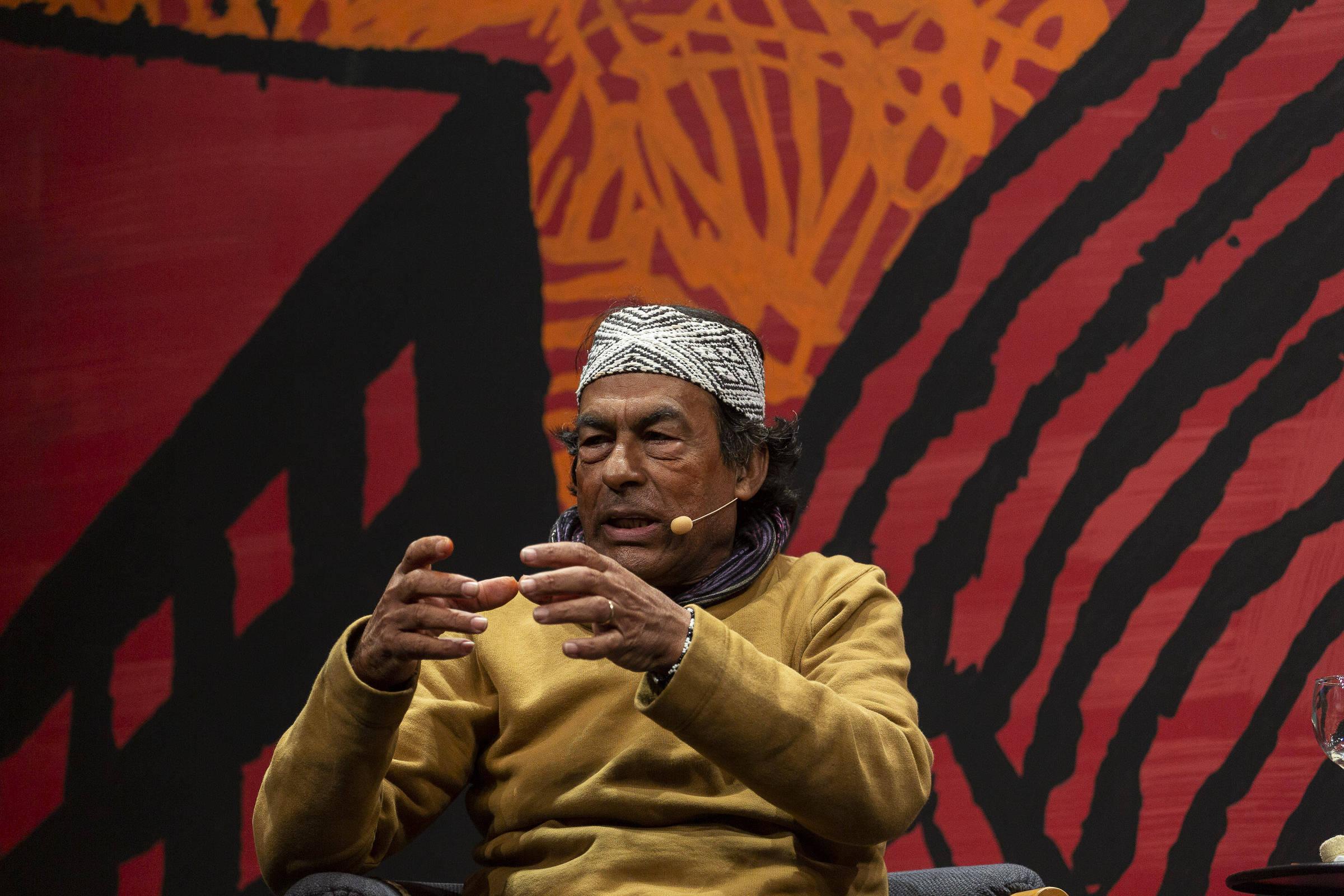 Líder indígena critica Bolsonaro por propostas sobre mineração
